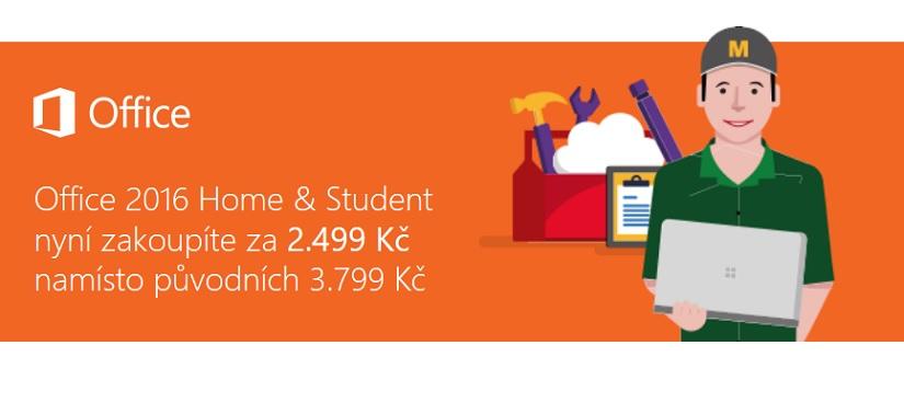 Zvýhodněná cena za MS Office